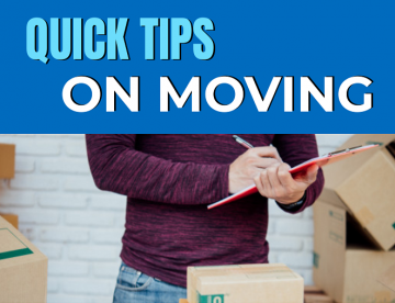 Quick Tips On Moving